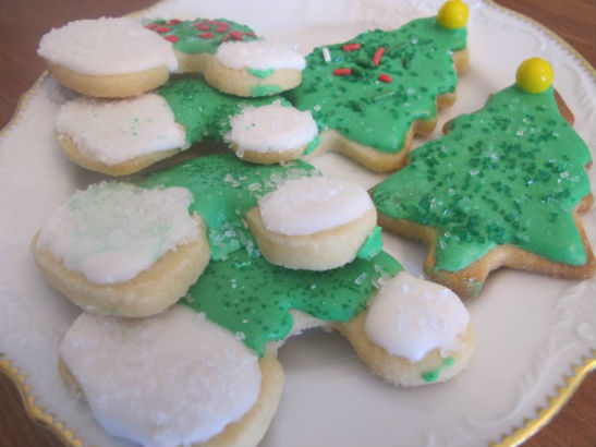 elf hat cookies
