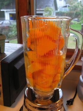 Lemon Verbena-Cantaloupe Sorbet