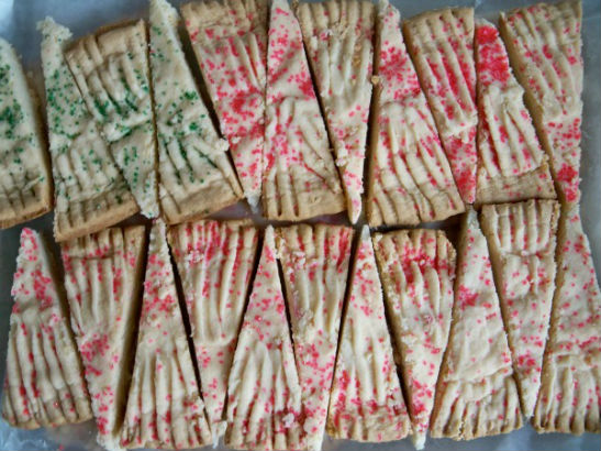 Traditional Scottish Shortbread by Maria, Adrianna, Victoria and Isabella Cicinelli