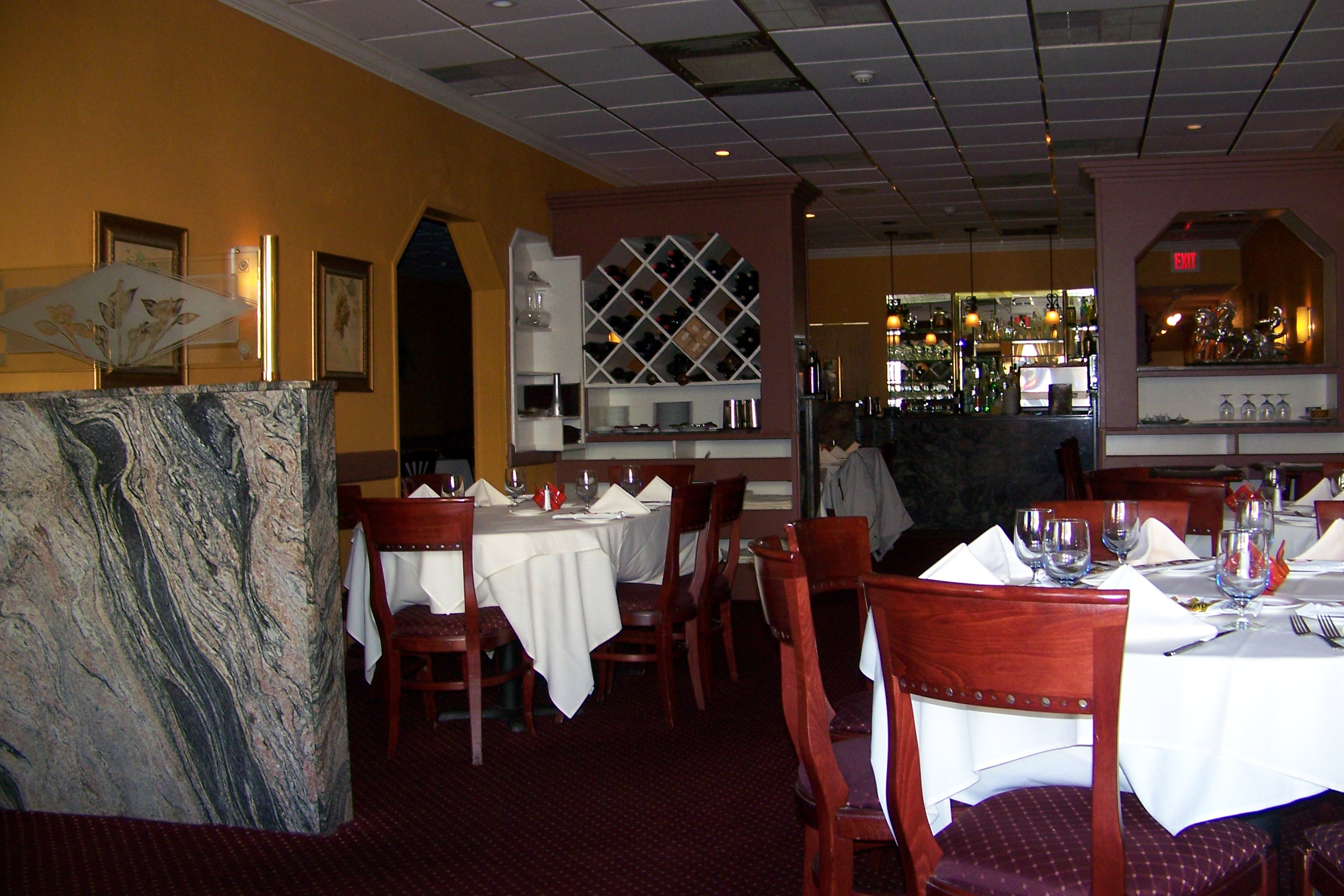 Interior of Marcello's