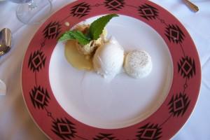 Dessert sample plate