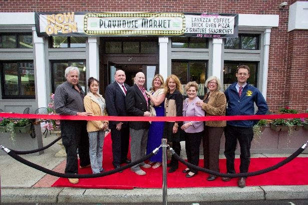 Playhouse Market Ribbon Cutting