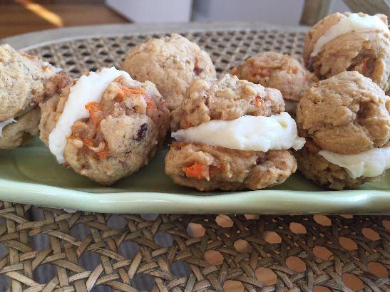 carrot whoopie pies