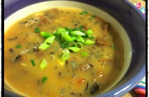 Wild Rice Soup from the pantry!