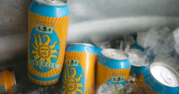 Cans of Oberon Ale from Bell's Brewery, Inc., out of Kalamazoo, Mich.