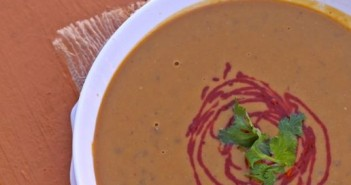 Spicy Ginger Soy Maple Kabocha Squash Soup