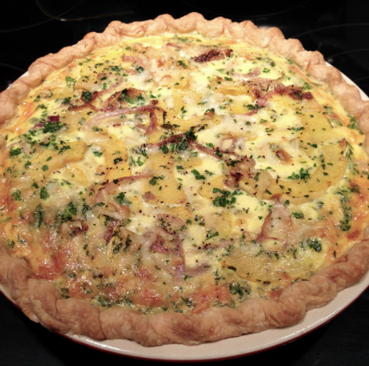 Seasonal Chef Maria Reina Delicata Quiche
