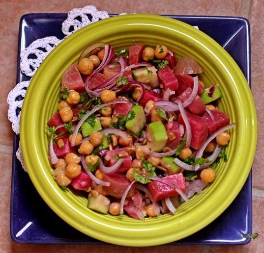 Chiogga Beet and Green Apple Salad