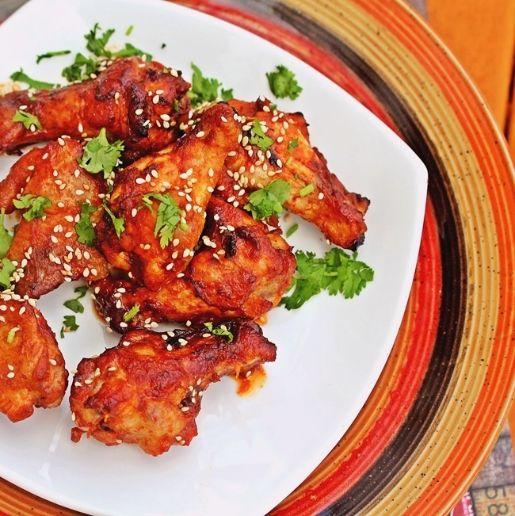 Hoisin Sriracha Wings