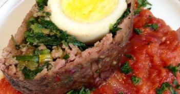 Seasonal Chef Maria Reina Meatloaf with a Twist