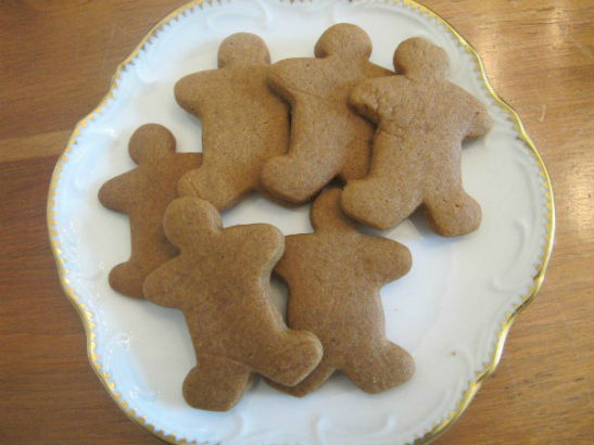 Not-So-Gingery Bread Men by Josephine and Sophie D'Ippolito