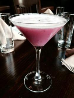 Blueberry Pisco Sour
