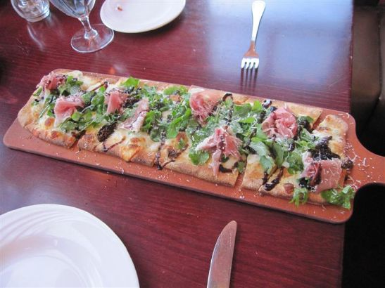 Cosimos Prosciutto and Fig Flatbread