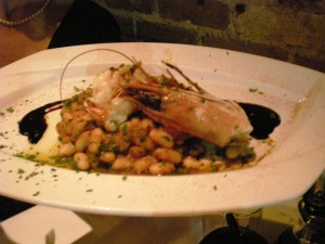 Braised Shrimp with Cannellini Beans