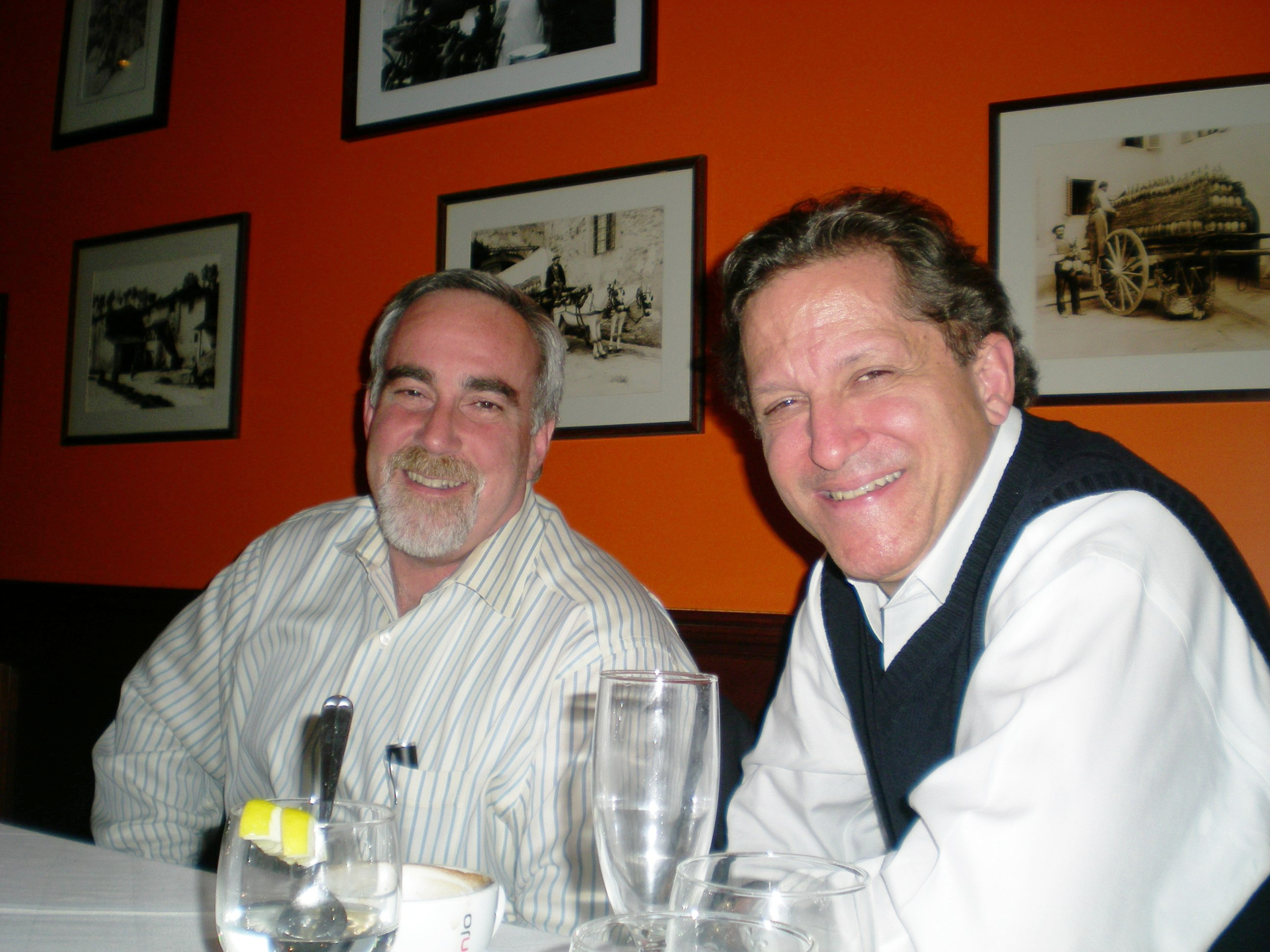 Lelio Patrizio and Larry Reina - Abruzzese brothers