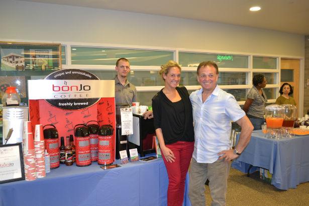 Greenburgh Library Books & Cooks Bonjo Coffee