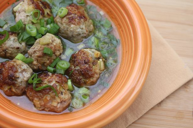 Apple and Sage Meatballs