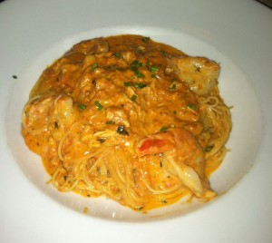 Angelhair Pasta w/ Shrimp & Crabmeat