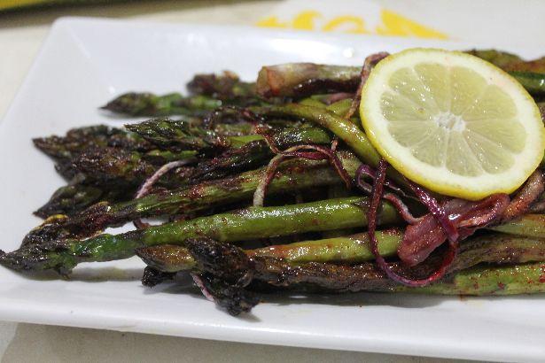 Tandoori Lemon Asparagus