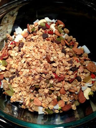Granola Brittle ingredients