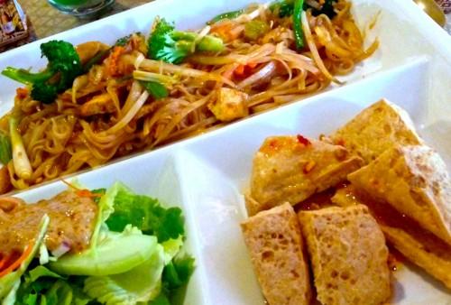 Pad Thai Pak & Tofu Tod