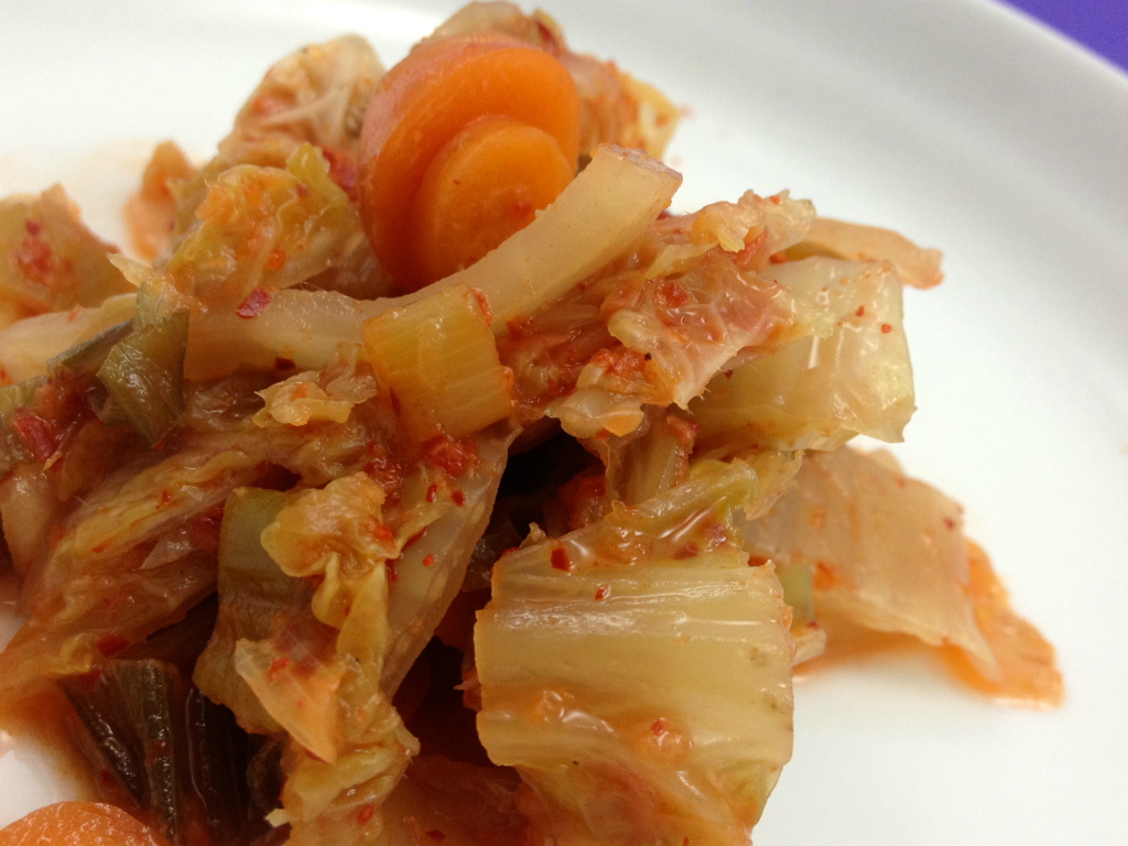 I Eat Plants:  Local Vegan Kimchi