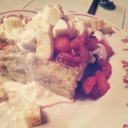 Wobble Strawberry shortcake french toast