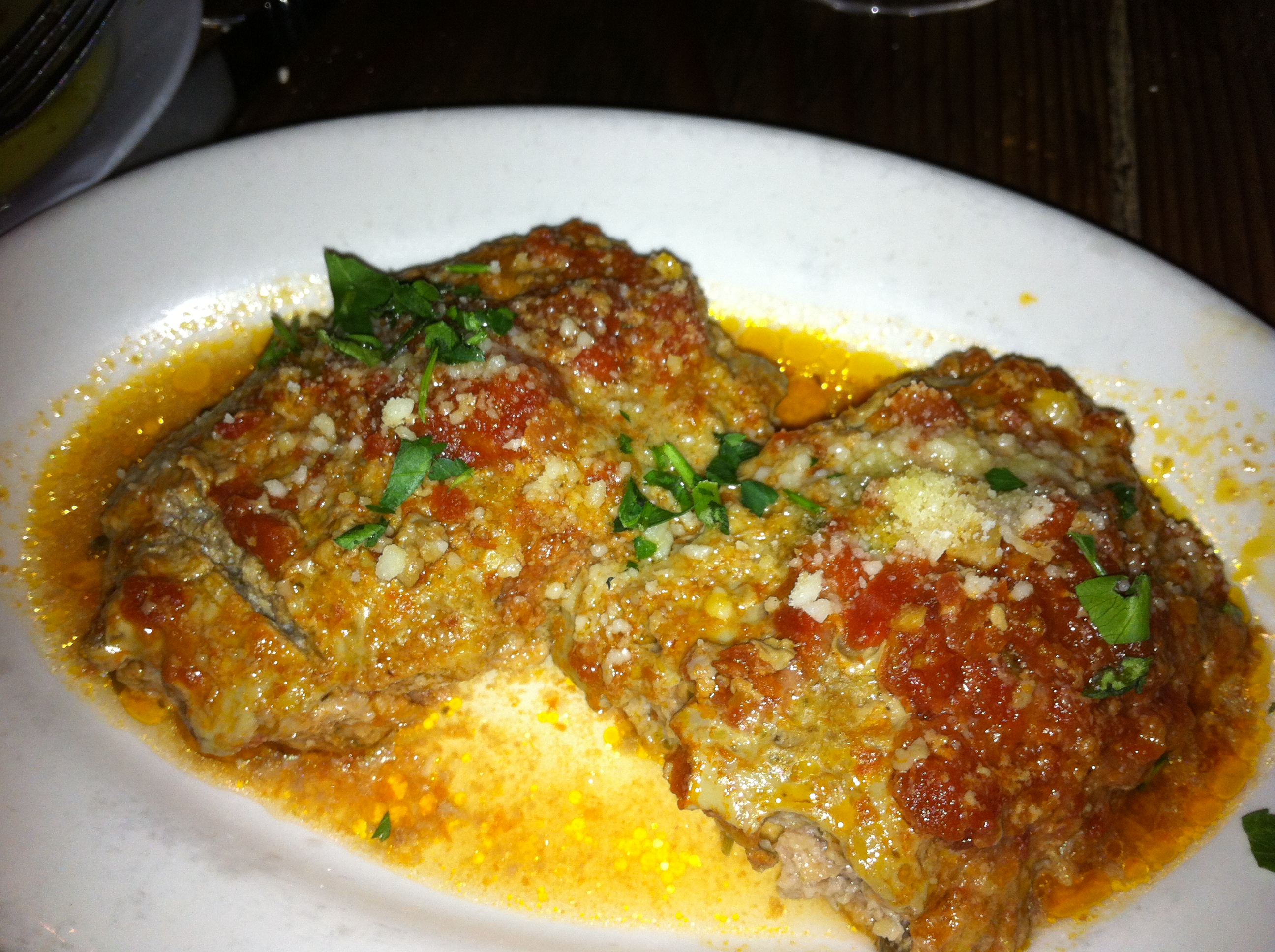Polpette, Heirloom Meatballs, Pomodoro, Parmigiano and Fresh Parsley
