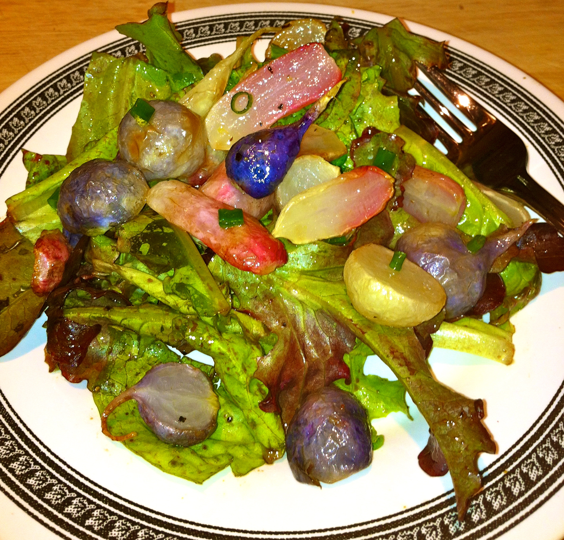 Roasted Radish Salad