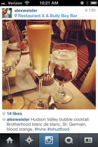Hudson Valley Restaurant Week on Instagram