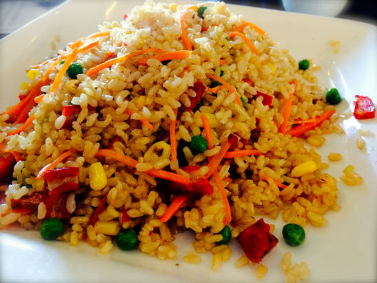 """Pork"" Fried Rice"