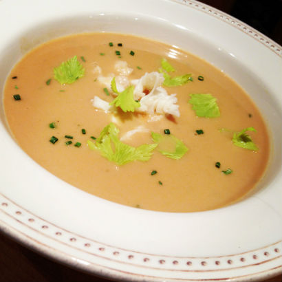 Seasonal Chef Lobster Bisque