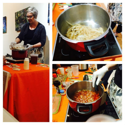 Pressure Cooking in Motion