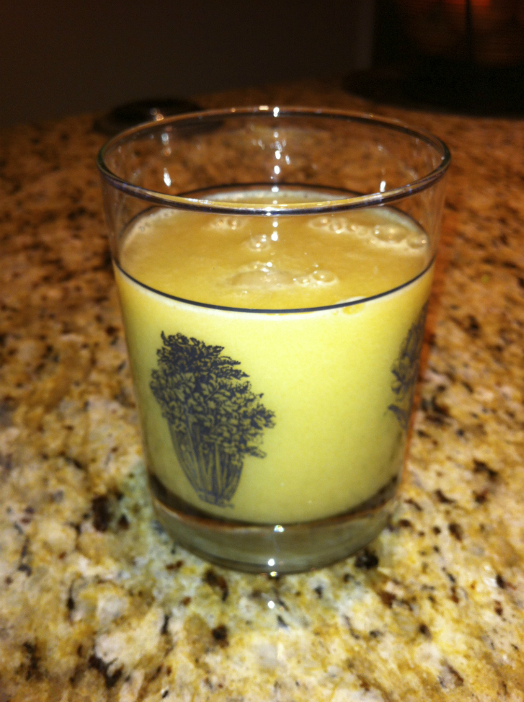juicing pear parsnip drink