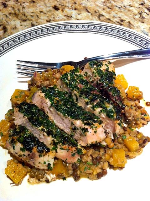 Mixed Lentil and Beet Salad