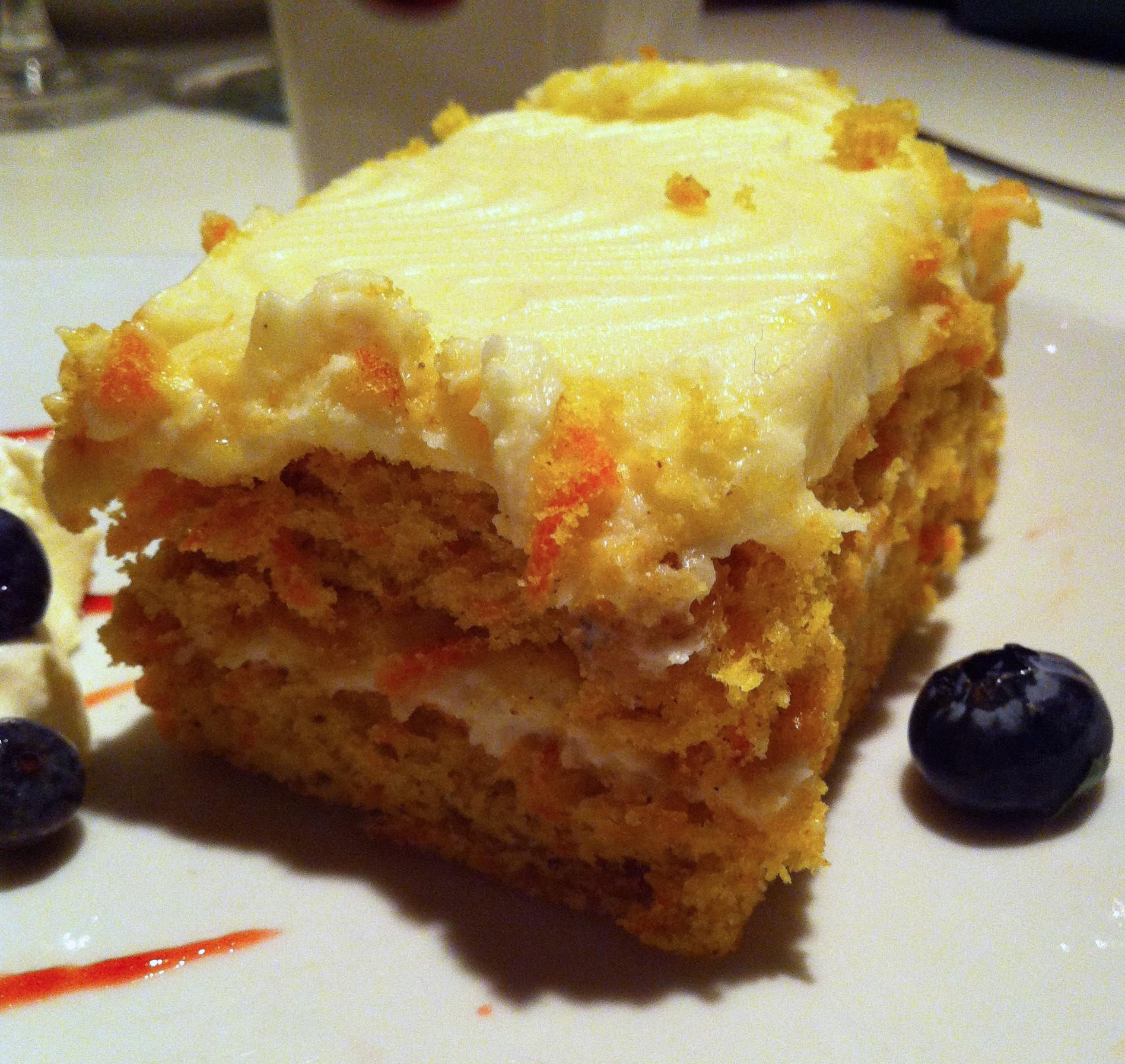 Carrot Cake Elm Street Oyster House