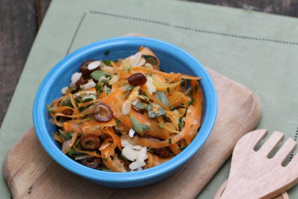 Carrot, Purslane and Date Salad