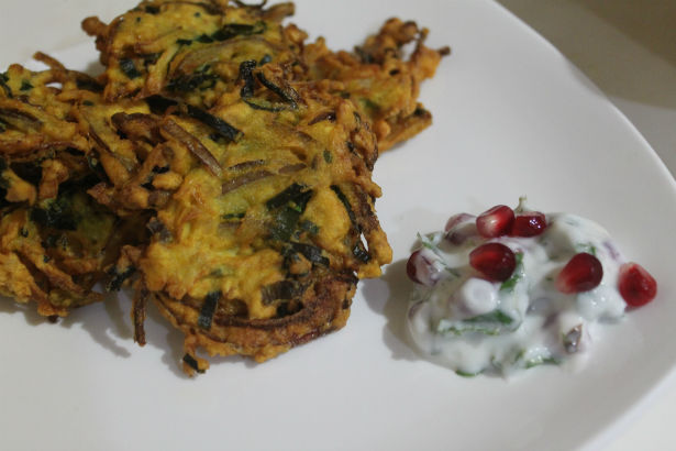 Indian Onion Fritters