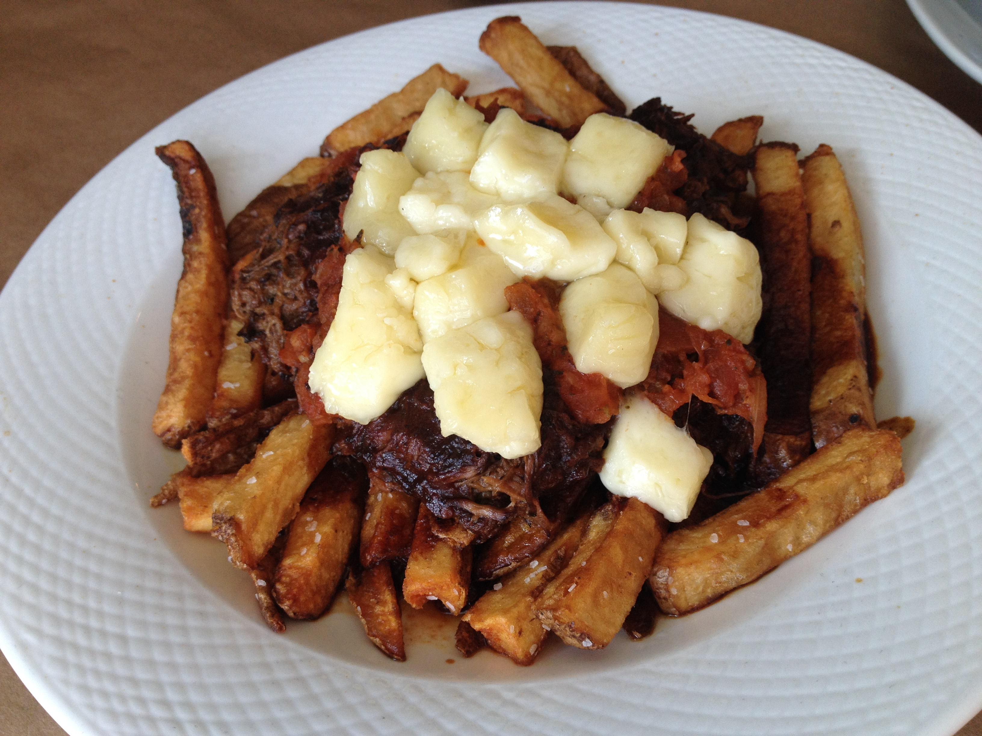 Craft House makes short rib poutine. Photo by Amy Sowder.