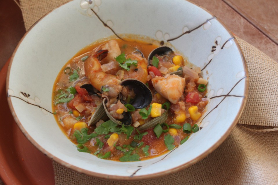 Tripple Herb Seafood Stew