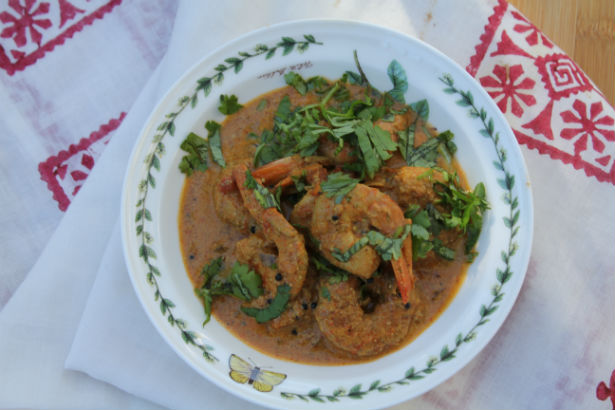 Kerala Shrimp Curry