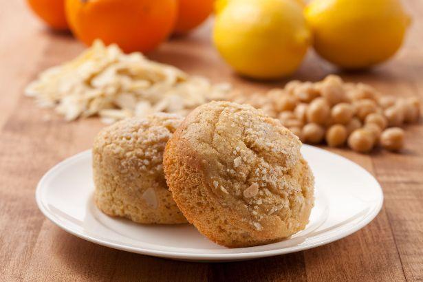 Lemon Chickpea Muffins KF