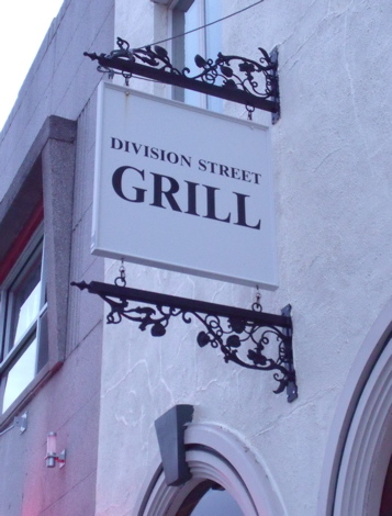 The Division Street Grill in Peekskill