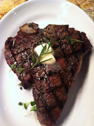 Madison Kitchen Porterhouse steak