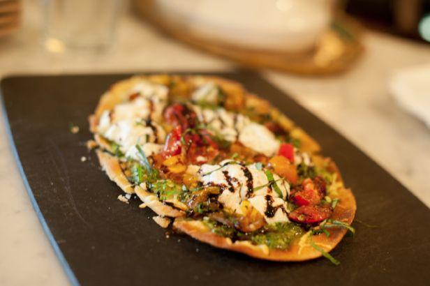 Burrata & Basil Flatbread