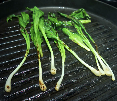 Grilling Ramps