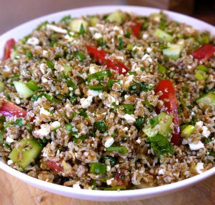 Greek Tabbouleh: Seasonal Chef Recipe