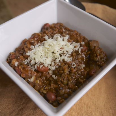Maria Reina, Seasonal Chef Recipe, Vegetarian Chili