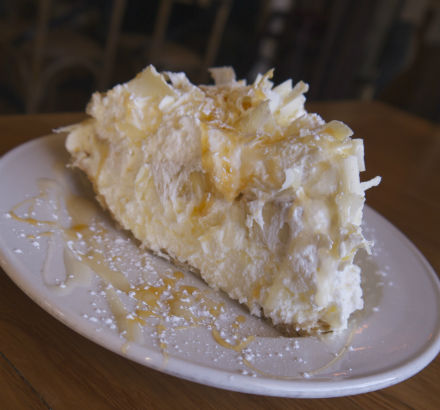 White Chocolate Banana Cream Pie, Beehive in Armonk