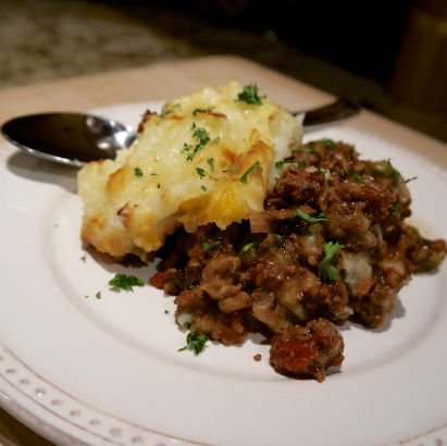 Shepherd's Pie, Seasonal Chef, Maria Reina